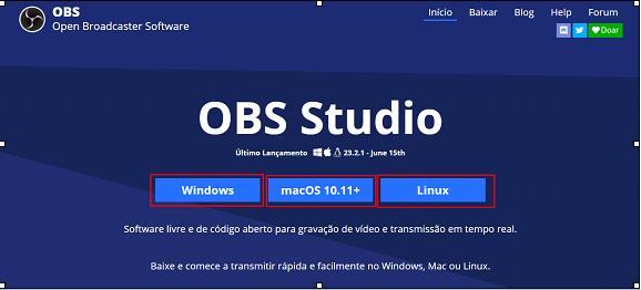 site obs studio